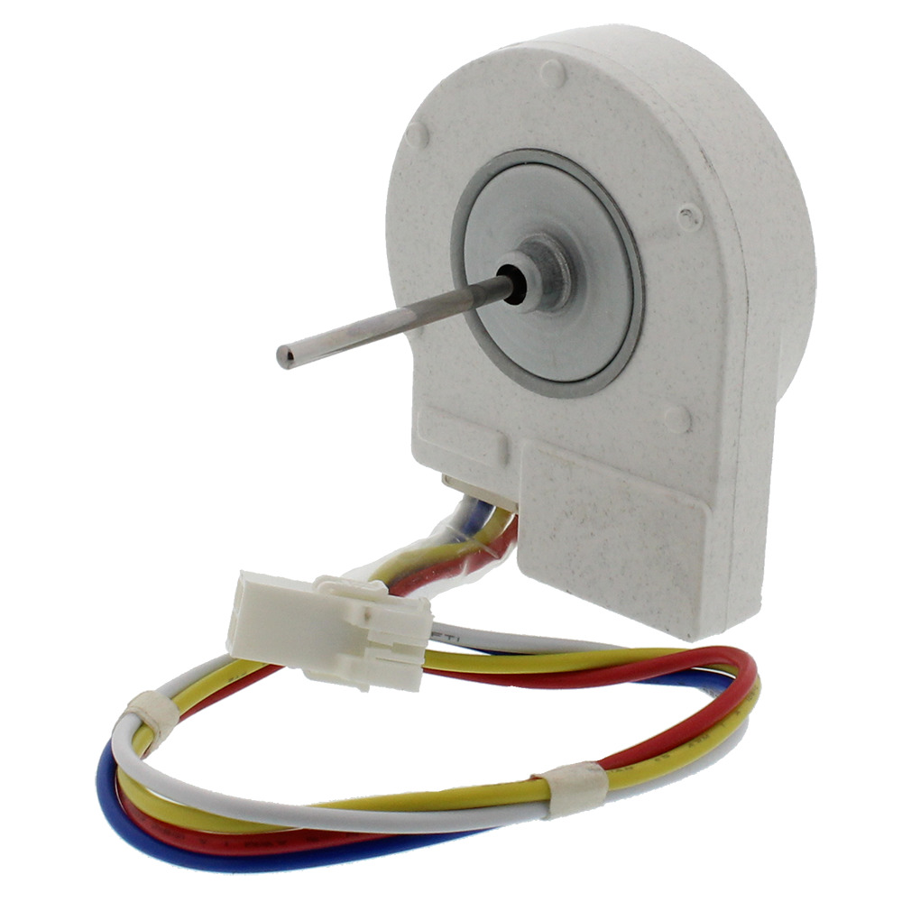 Wr60x10209 ge refrigerator dc condenser fan motor for Ge refrigerator condenser fan motor not working