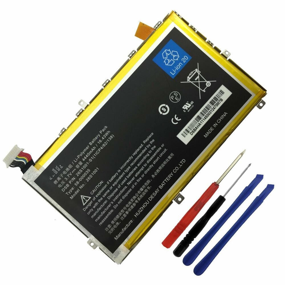 Original Genuine Battery For Amazon Kindle Fire HD 7