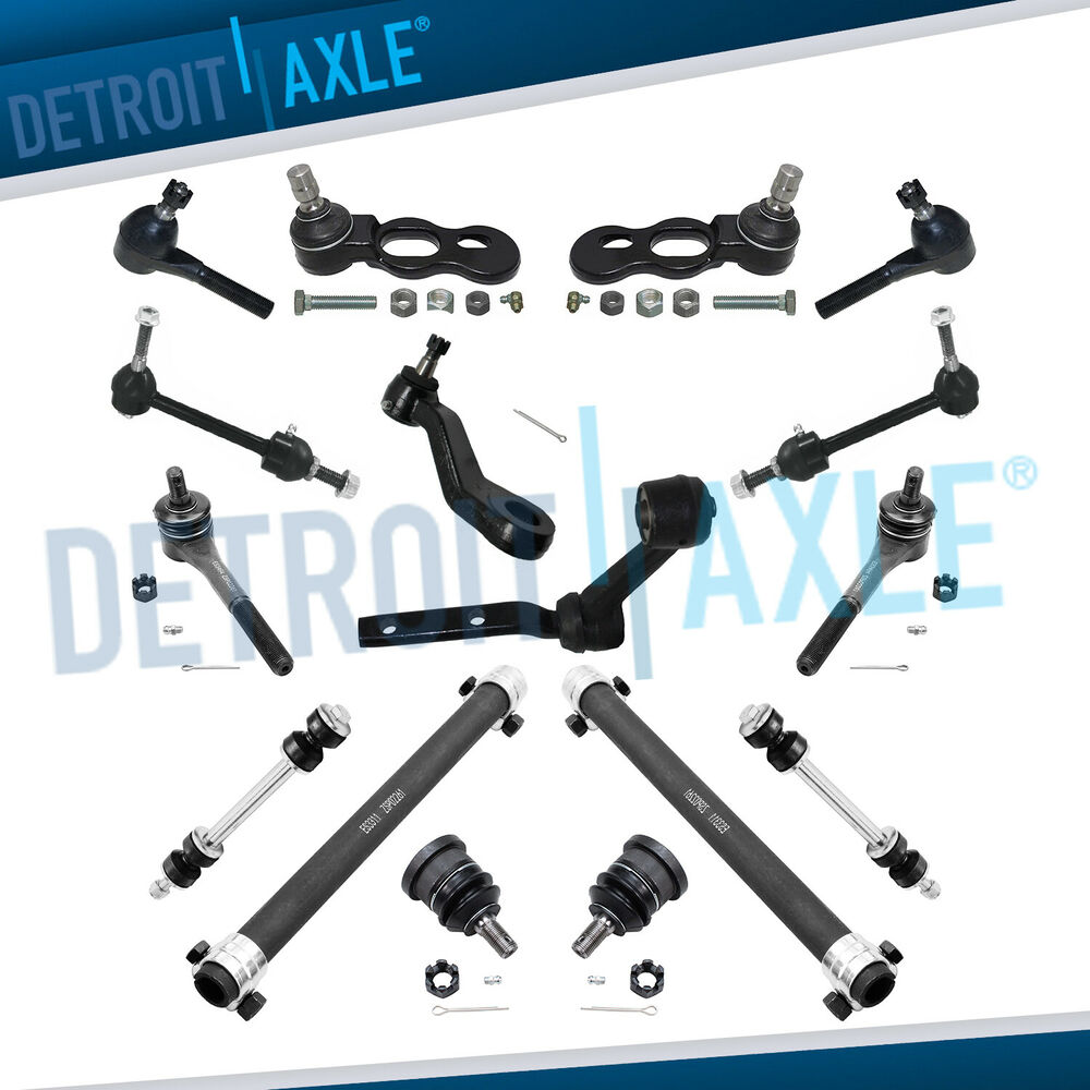 New 16pc Complete Front Amp Rear Suspension Kit For 1998