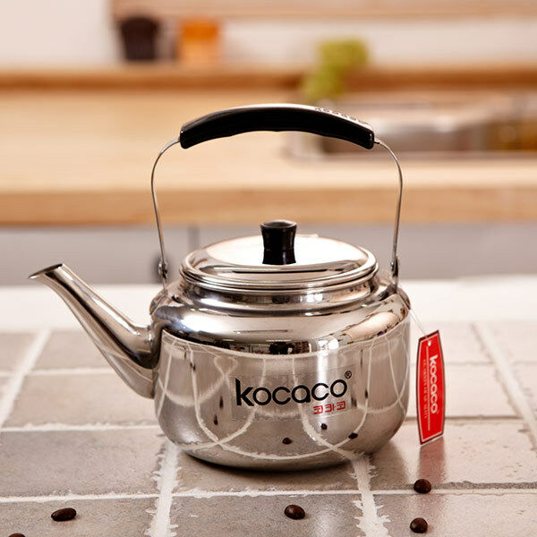 Kocaco liter stainless steel kettle boiling hot water
