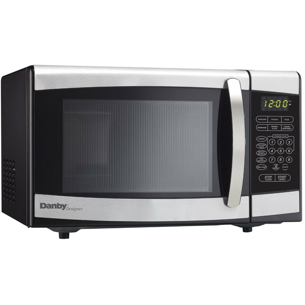 Countertop Microwave Black Stainless : ... Cu. Ft. Stainless Countertop Microwave 67638902328 eBay