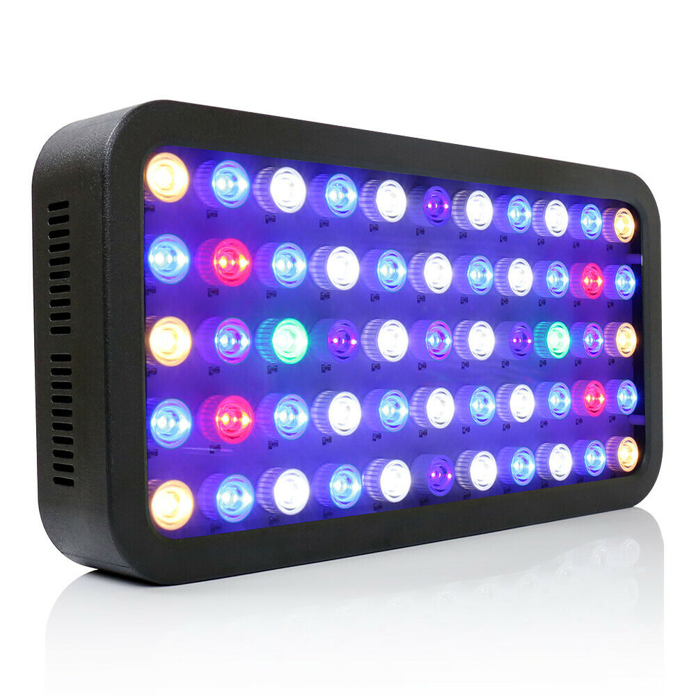 165w dimmable led aquarium lamp f r s wasser marine coral fischtank beleuchtung ebay. Black Bedroom Furniture Sets. Home Design Ideas