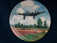 """Royal Doulton Heroes Of The Sky """"Stirling Home Run"""" plane plate"""