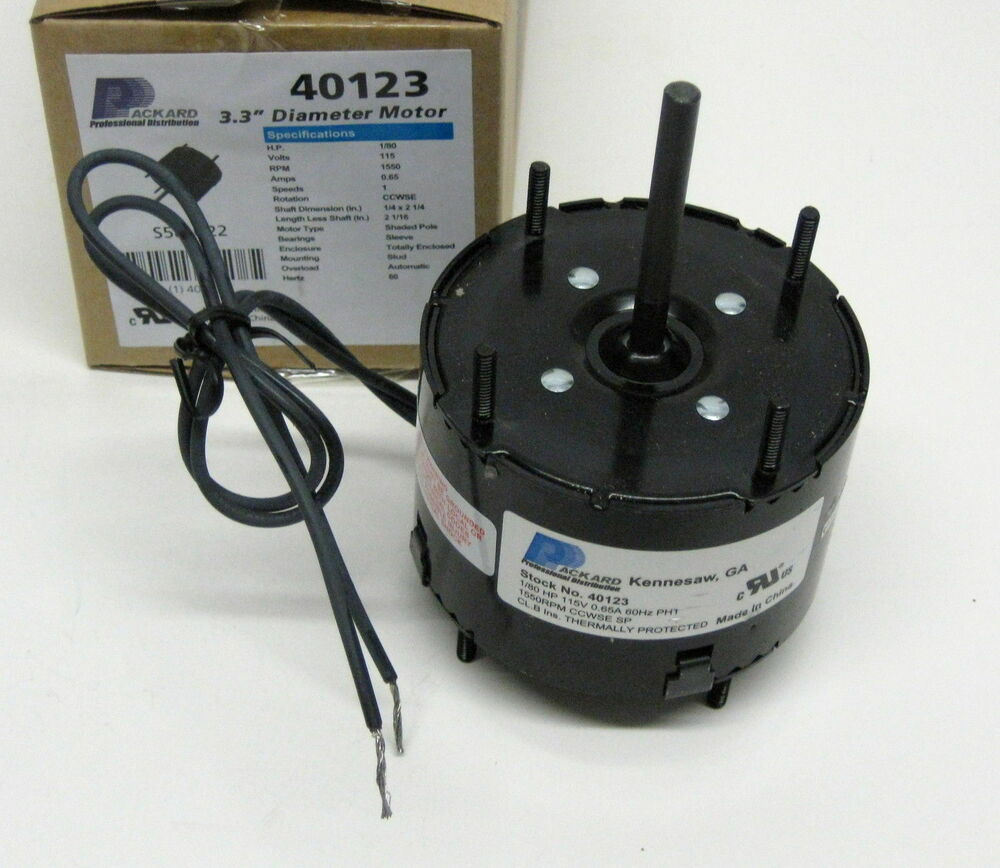 40123 3 3 U0026quot  Motor 1  80 Hp 1500 Rpm 115 Volts Ccw Rotation