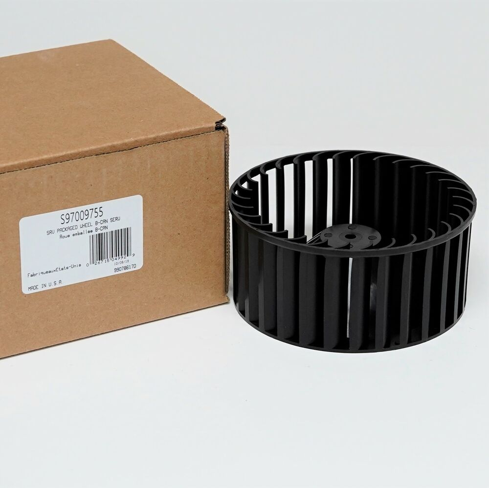 Blower Cage Replacement : Broan bath fan blower wheel squirell cage new ebay