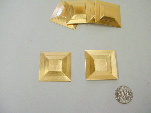 Art deco square jewelry finding 6 pieces ebay for Deco 6 hoerdt