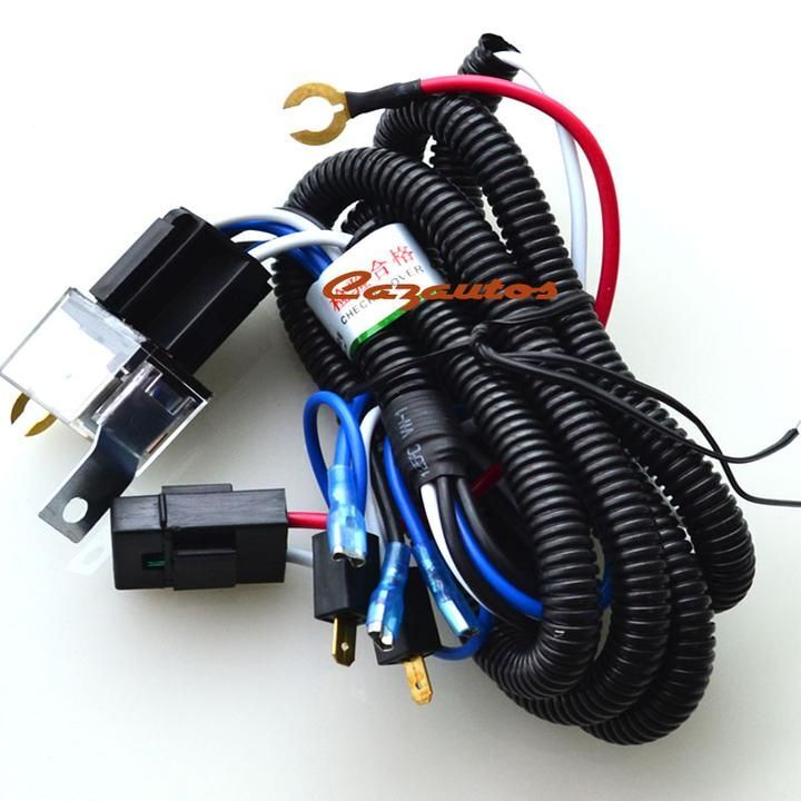 Universal Automobile Wiring Harness : Universal car truck snail horn wire harness m relay