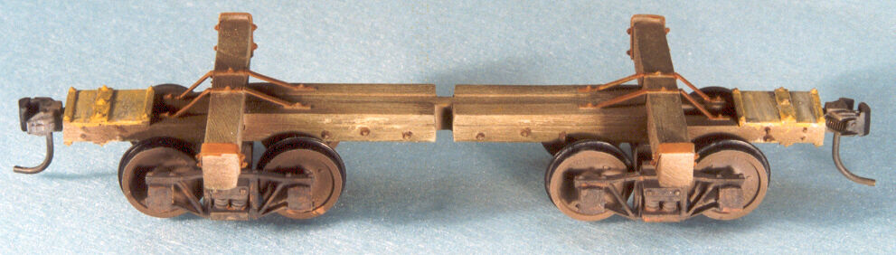 Build Your Own Car Kit >> On3/On30 WISEMAN MODEL SERVICES ARGENT LUMBER 20' RUSSELL SKELETON LOG CAR KIT | eBay