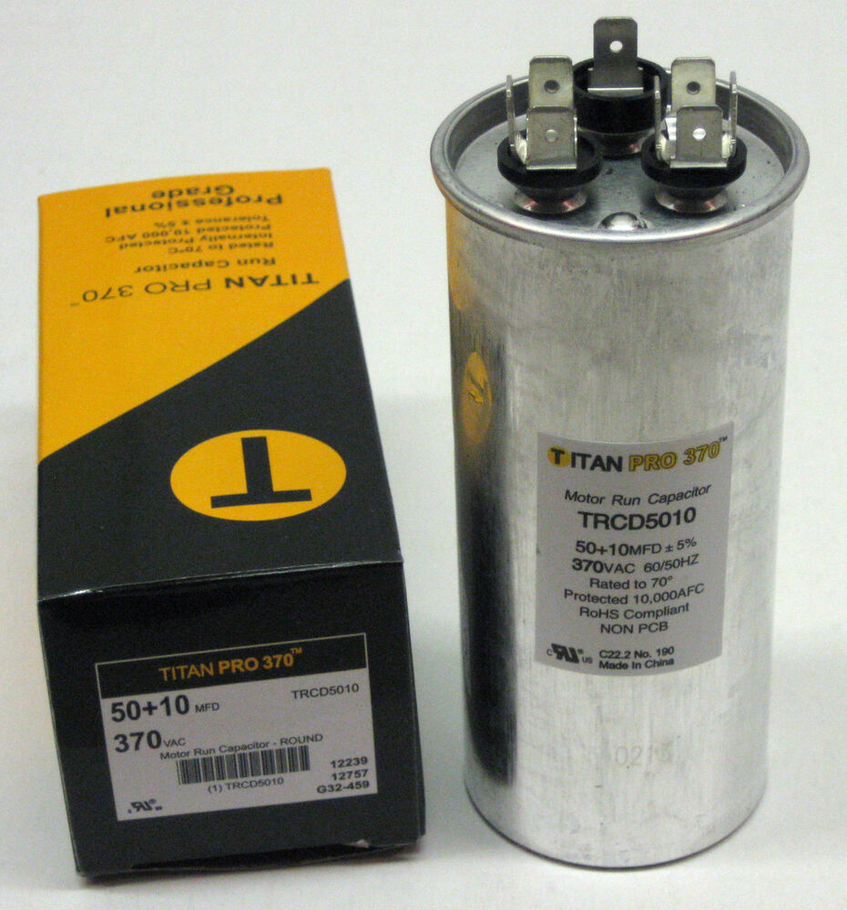 a round dual capacitor wiring air conditioner dual capacitor wiring titanpro trcd5010 hvac round dual motor run capacitor 50 #1