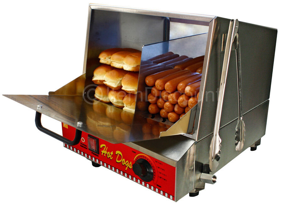 96 hot dog steamer 30 bun warmer cooker machine commercial vending concession ebay. Black Bedroom Furniture Sets. Home Design Ideas