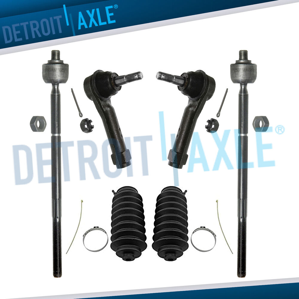 All 4 Inner Amp Outer Tie Rod Ends Boots Chrysler Town
