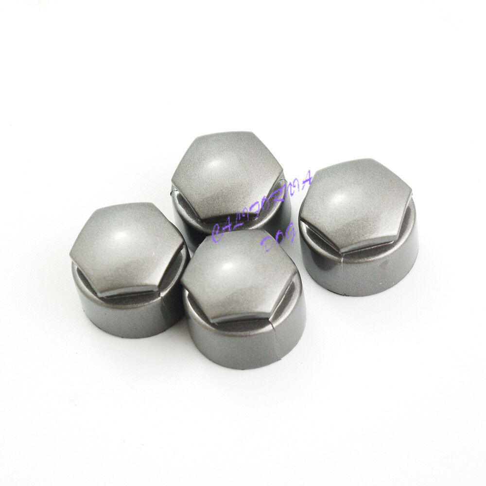 4pcs Locking Wheel Center Nut Cover Cap 25mm For Audi A4