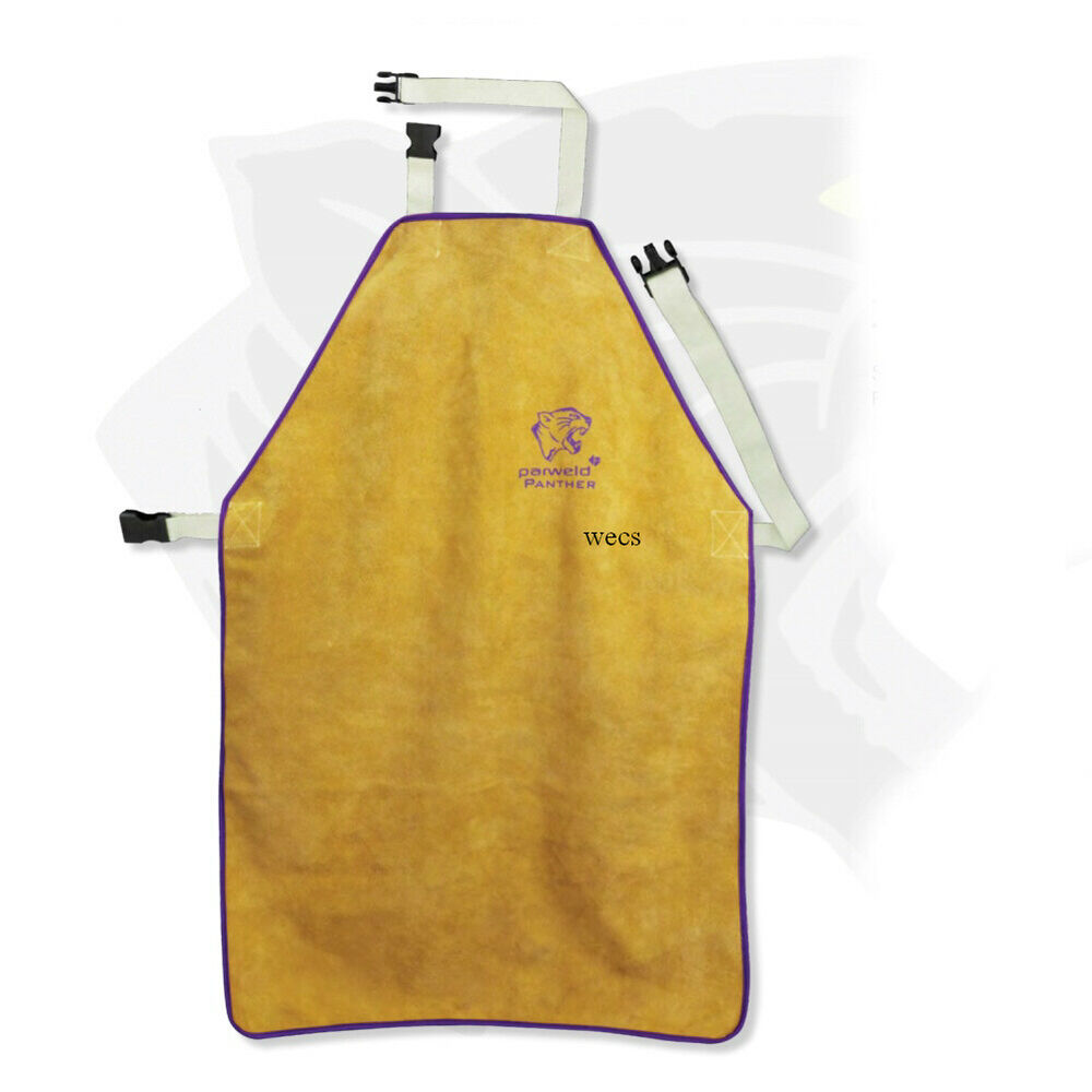 Parweld Panther Welders Leather Apron Safety Clothing Ebay