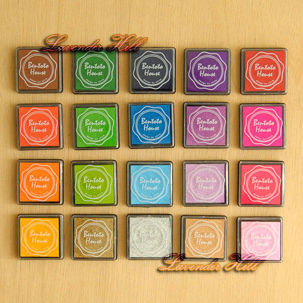 4cmx4cm craft inkpad ink pad rubber stamp paper wood for Custom craft rubber stamps