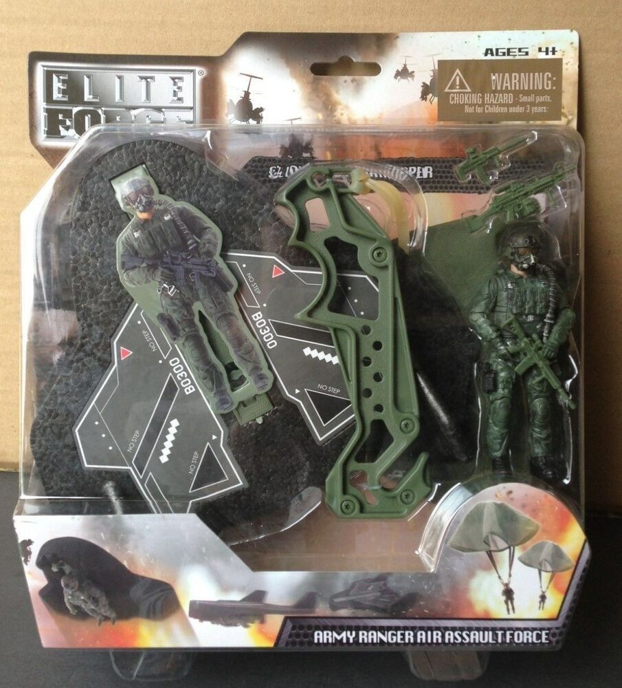 Military Toys Elite Force 1 18 : Elite force bbi glider and paratrooper army ranger air