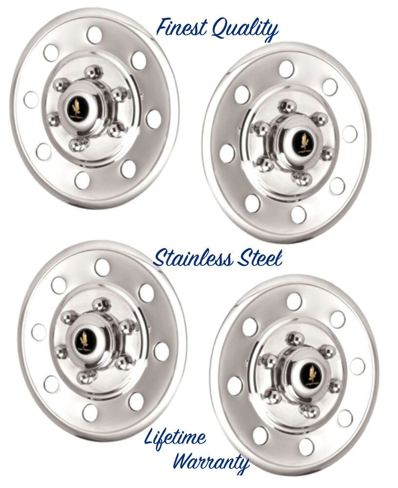 Trailer Hub Caps 12 : Quot wheel cover hubcaps cars trucks trailers polished