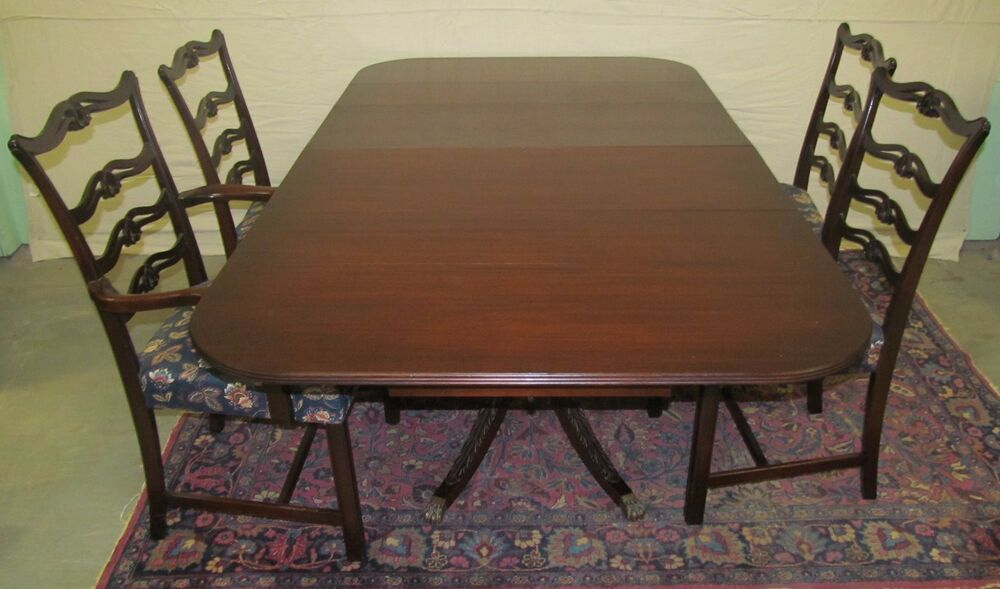 Fine charak furniture company danbury table with set of