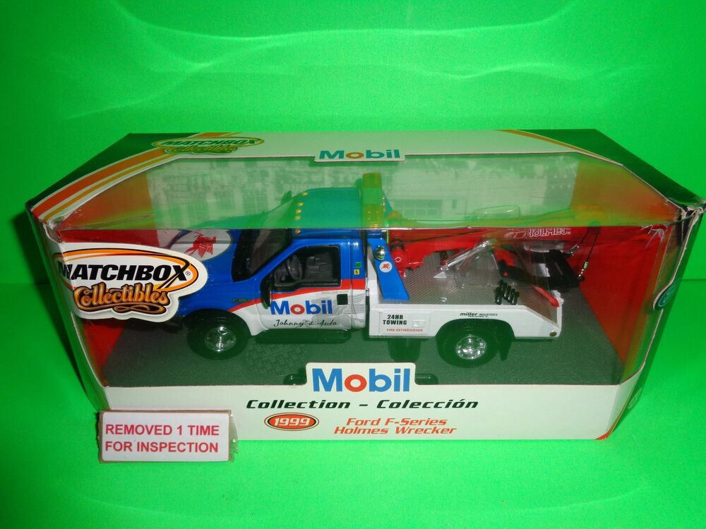 matchbox 1 24 mobil ford f350 tow truck holmes towing. Black Bedroom Furniture Sets. Home Design Ideas