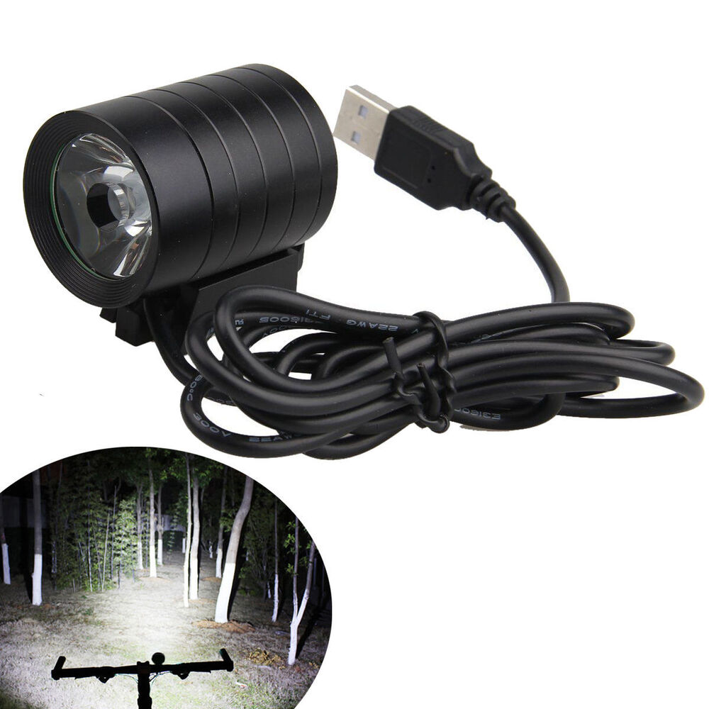 CREE 1200LM XM-L L2 T6 USB LED Headlamp Headlight Bicycle ...