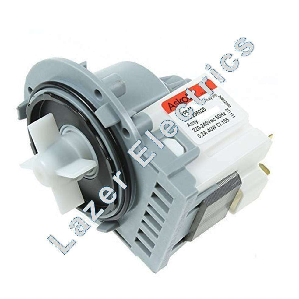 universal askoll washing machine drain pump motor ebay On universal washing machine motor