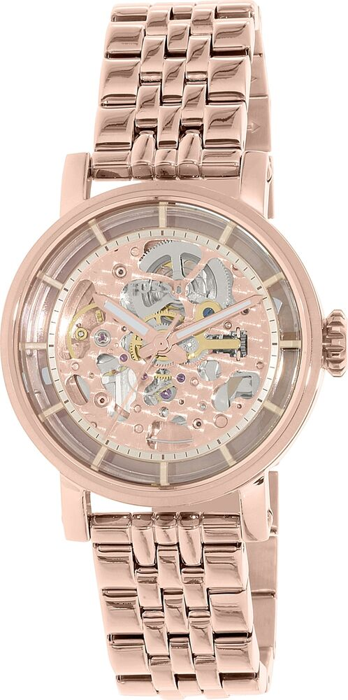 fossil women 39 s boyfriend me3065 rose gold stainless steel automatic watch 796483150416 ebay. Black Bedroom Furniture Sets. Home Design Ideas