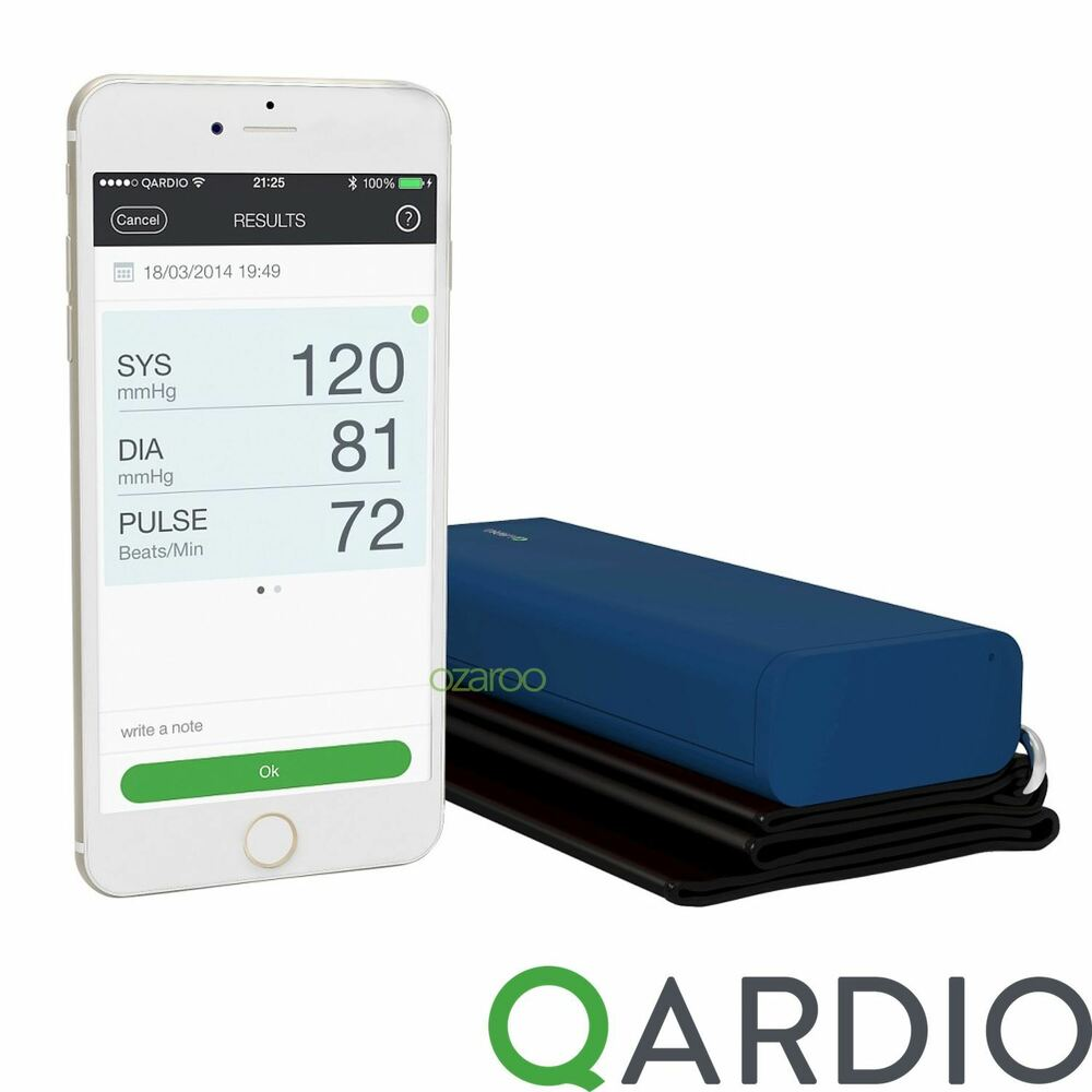 iphone blood pressure monitor qardio arm wireless pressure monitor for iphone ios 7797