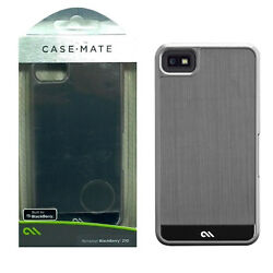 Case-Mate Brushed Aluminum Shock Absorbing Dual Layer Case for BlackBerry Z10