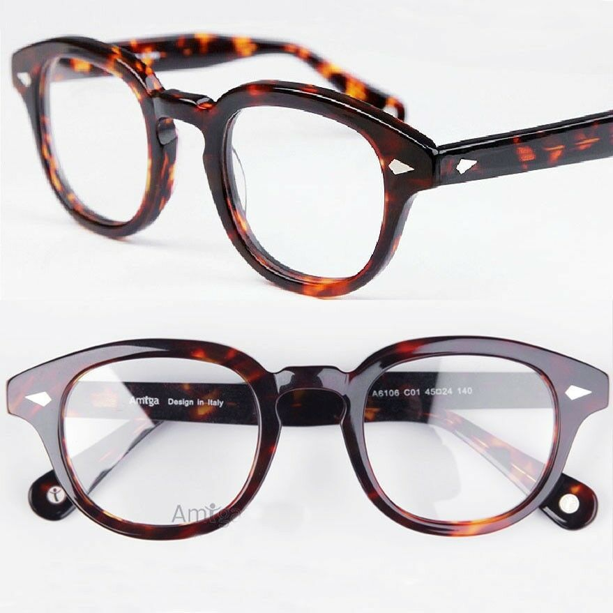 Medium Vintage Tortoise Shell Eyeglass Frames Optical ...