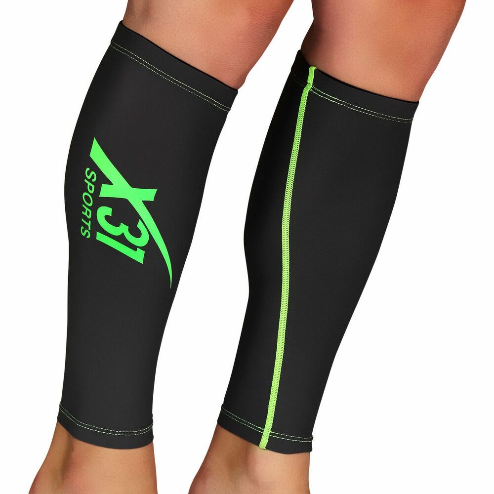 running compression sleeves calf