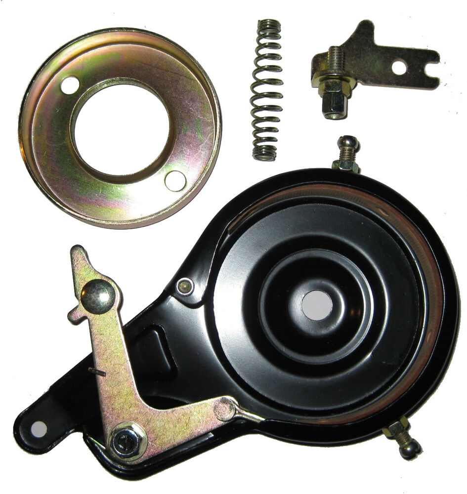 Band Brake Assembly W 70mm Rotor Black For Electra 43cc