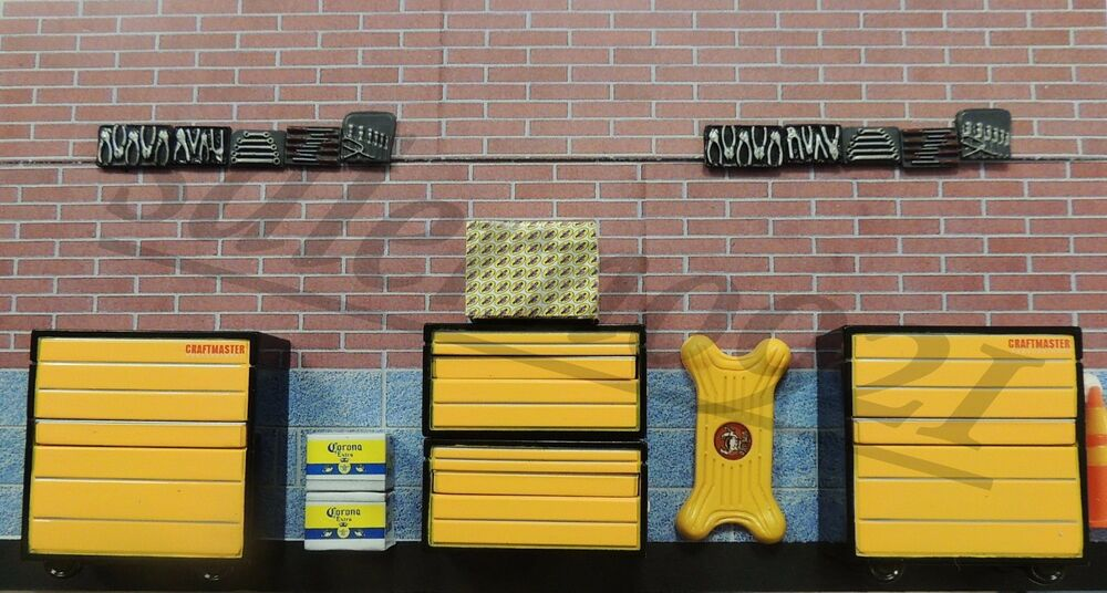 1 24 1 25 Barn Garage Diorama For Sale On Ebay: ONE NEW MORE REALISTIC GARAGE DECALS FOR 1:24 SCALE