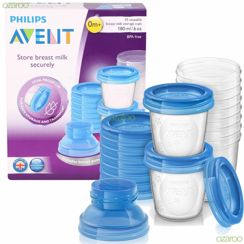 Philips Avent Baby Food Storage Cups
