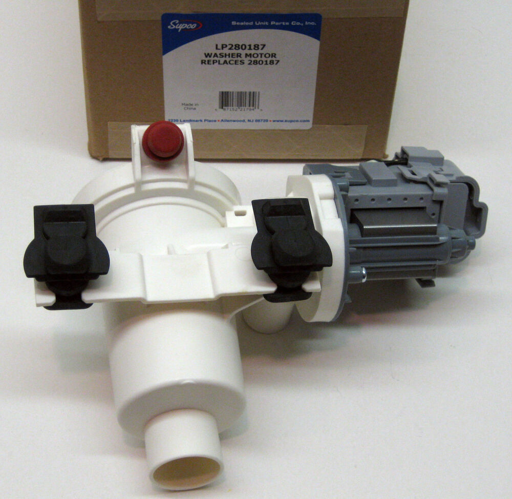 Lp 280187 Washer Pump Motor For Whirlpool Kenmore Duet