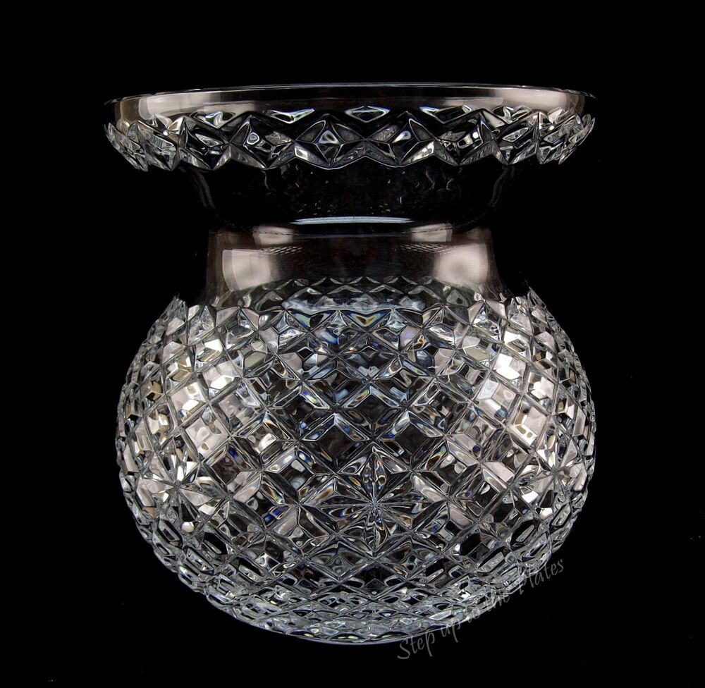 Waterford crystal large corset bouquet vase quot adare alana