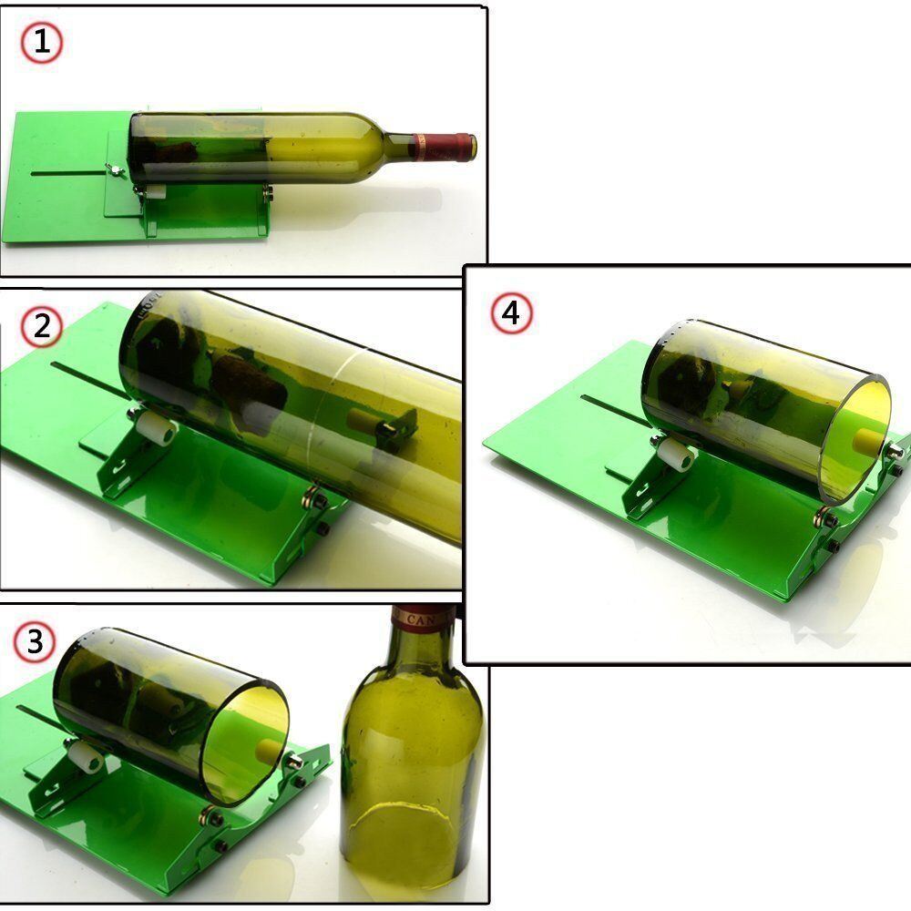 long glass bottle cutter machine diy recycles wine bottles