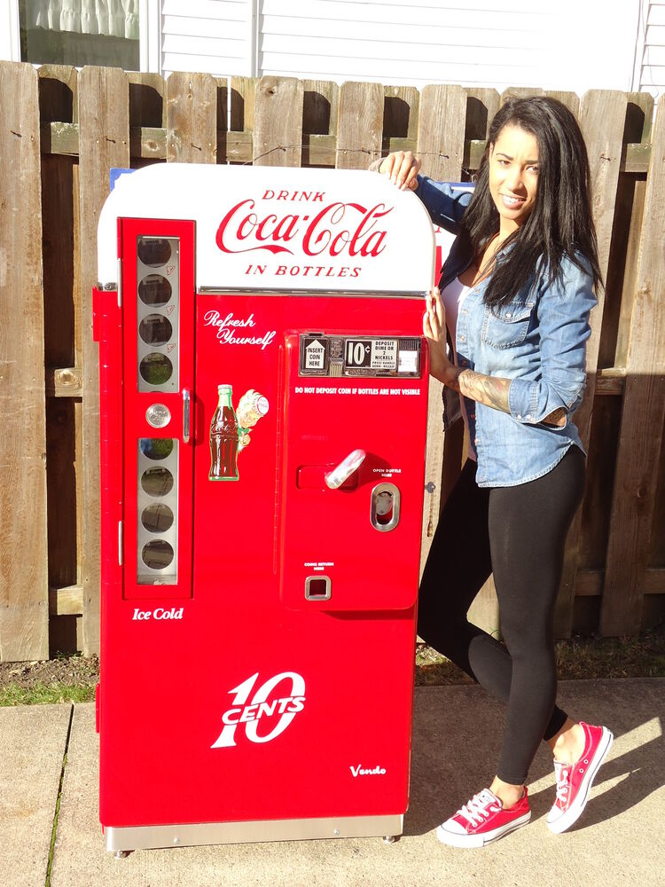 Vendo 81 D #2 1958 Coca Cola Coke Machine Professional ...