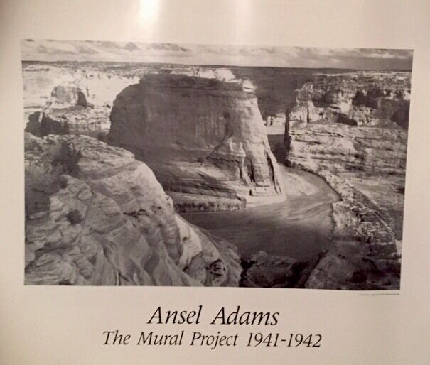 New ansel adams the mural project print poster 16x20 for Ansel adams mural
