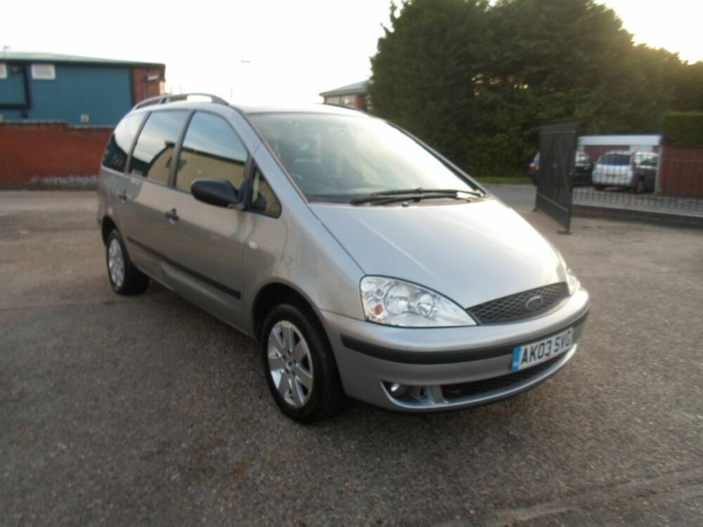 2003 ford galaxy 1 9tdi zetec 7 seat diesel mpv now in. Black Bedroom Furniture Sets. Home Design Ideas