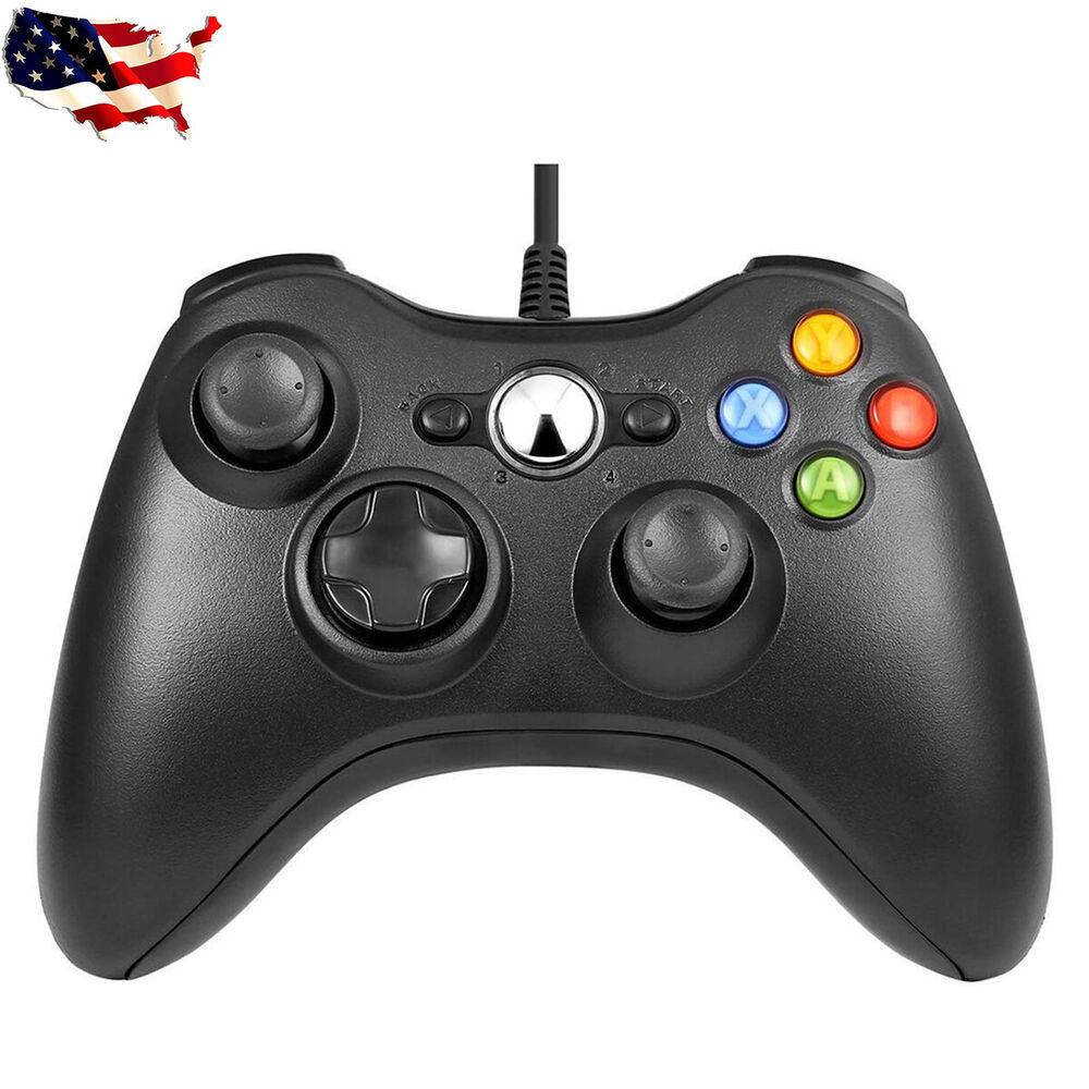 For Official Microsoft Xbox 360 Wired Controller Windows ...