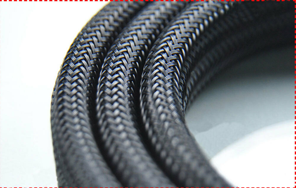 4 30mm 10m pet braided cable sleeving sheathing auto wire. Black Bedroom Furniture Sets. Home Design Ideas