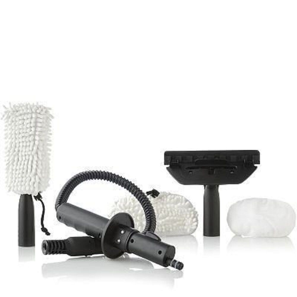 13 piece accessory kit with all the extra nozzles
