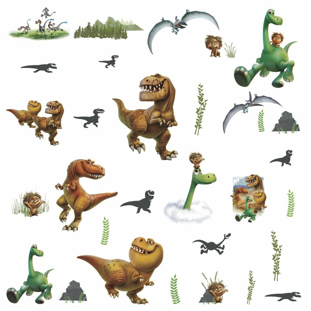 The good dinosaur wall decals spot butch ramsey nash arlo for Nice ideas dinosaur decals for walls