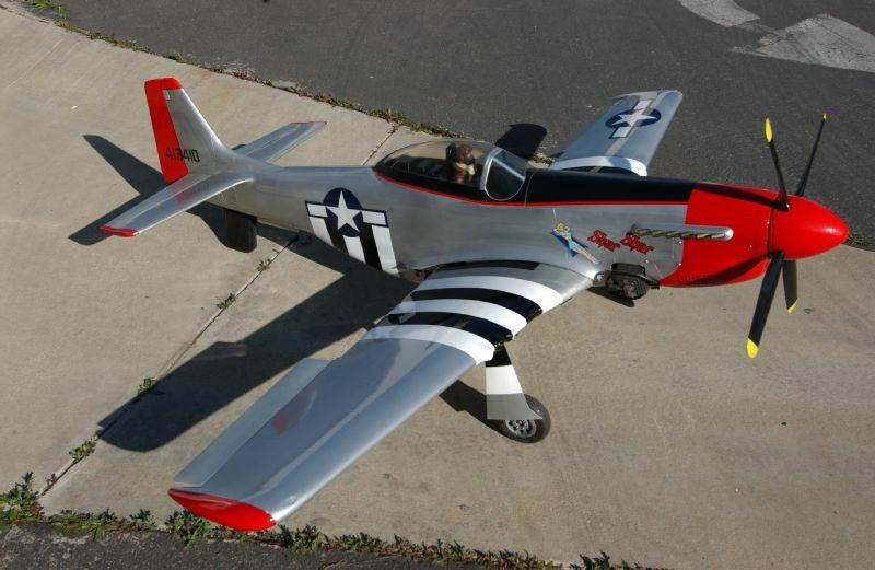 P 51 Mustang Wwii 86 Quot Giant Scale Airplane Ebay
