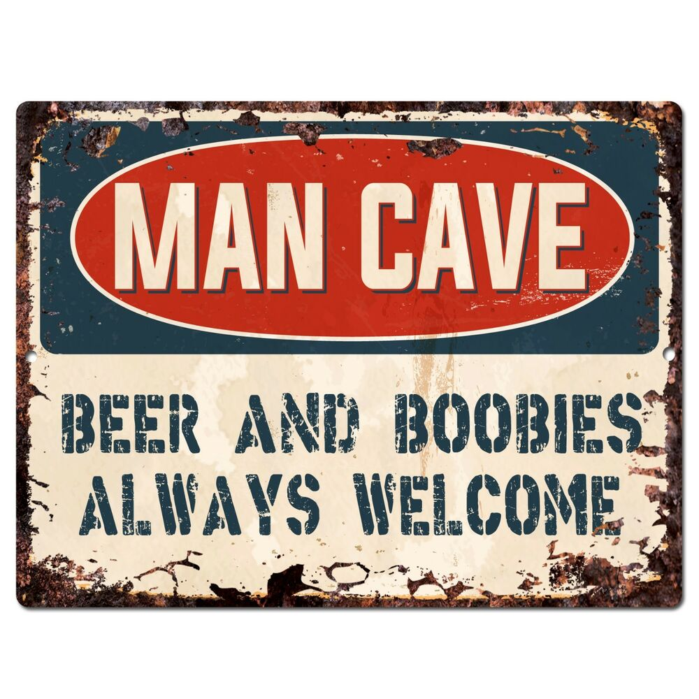 Stores That Sell Man Cave Signs : Pp man cave beer always welcome chic sign home store
