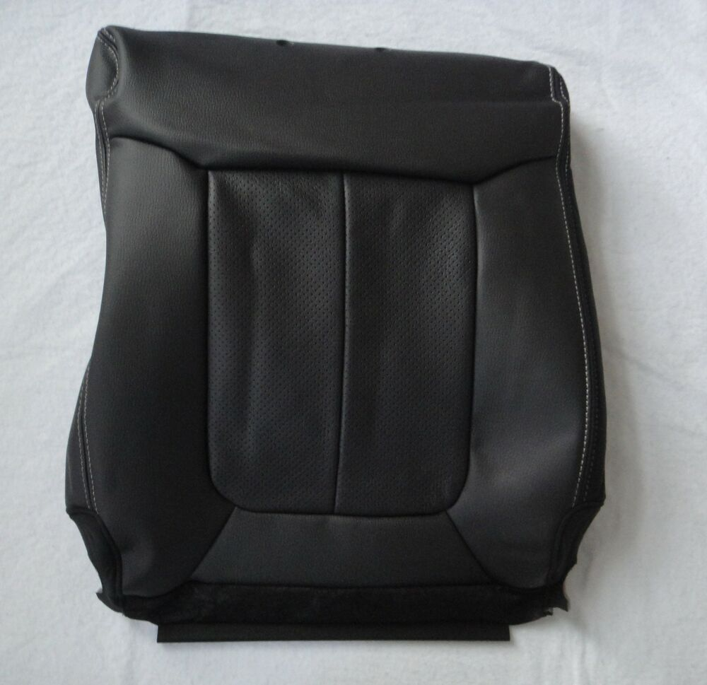 OEM FORD F SERIES F150 LARIAT SEAT COVER BACK 40 LEATHER