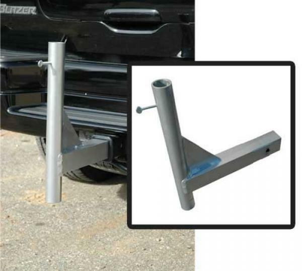 Brand New Flagpole Trailer Hitch Mount for Large Diameter ...