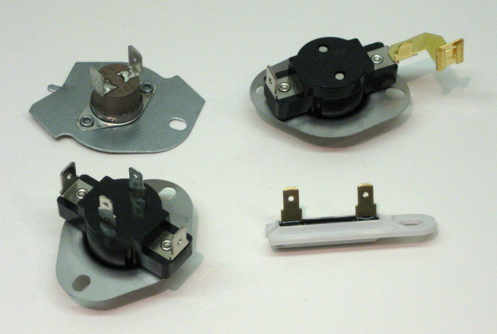 Kenmore Frigidaire Parts >> N197-3387134-3392519 Thermostat Package Kit for Whirlpool Kenmore Dryer BETTER!! | eBay