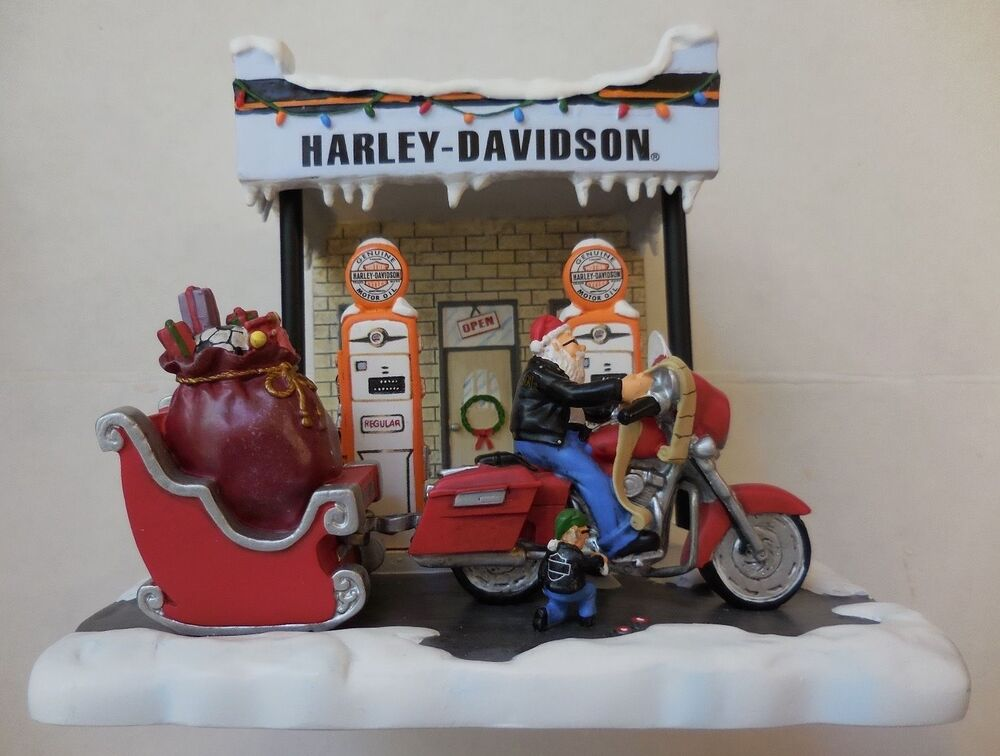 Harley davidson motorcycle motor oil gas station pumps
