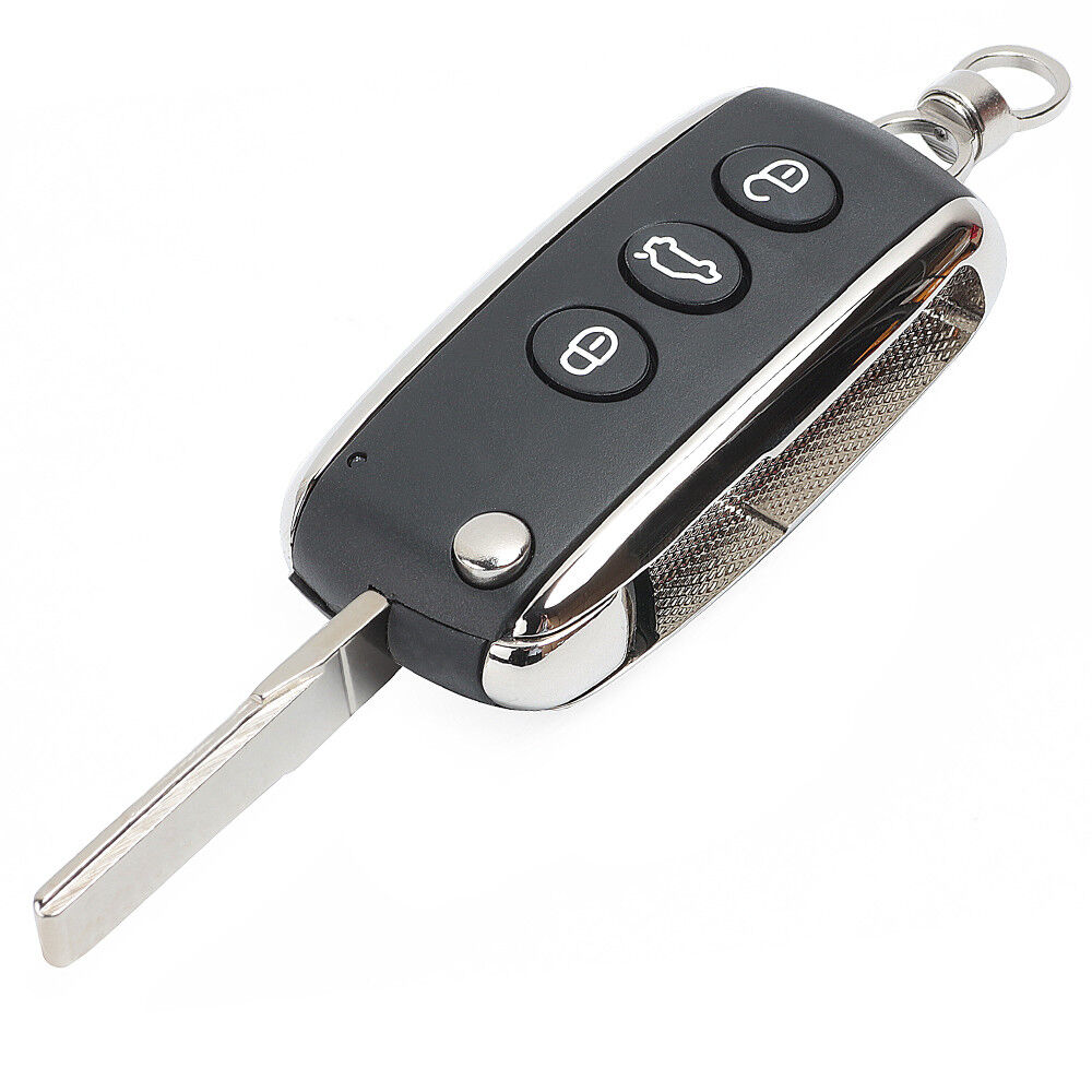 New Uncut Replacement Folding Remote Key Shell Case Fob 3 ...