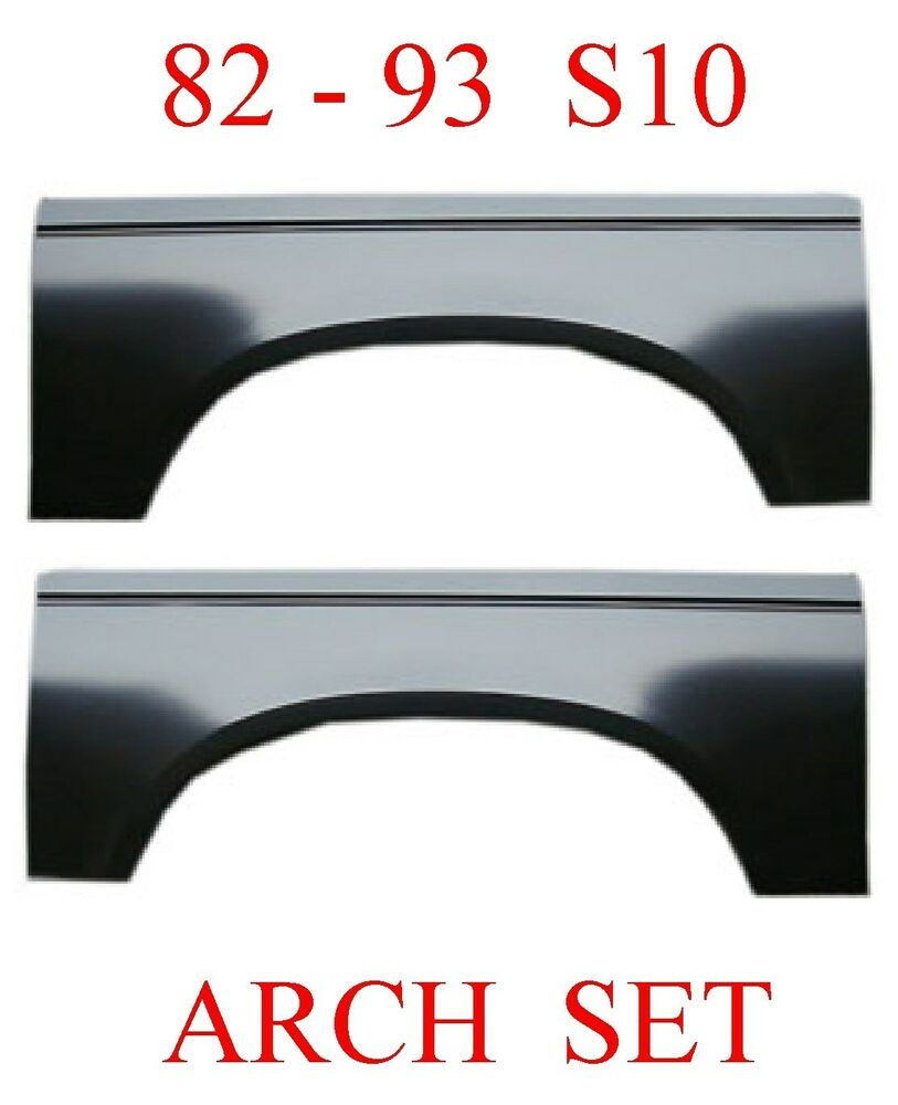 82 93 Chevy S10 Upper Arch Repair Panel Set Gmc S15 Rust